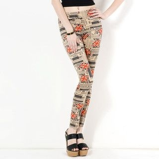 YesStyle Z - Union Jack Print Leggings