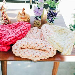 Azalea - Braided Cable-Knit Beanie