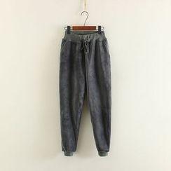 Mushi - Velvet Harem Pants