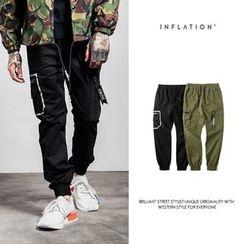 Newin - Elastic Cuff Cargo Pants