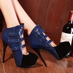 Sidewalk - Platform Stiletto Booties