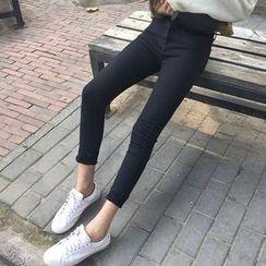 Lokin - High Waist Skinny Jeans