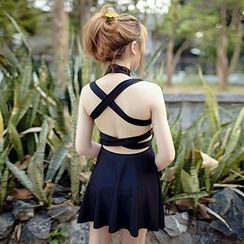 DJ Design - Cross Back Swimdress