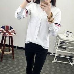 Tangi - Color Block Shirt