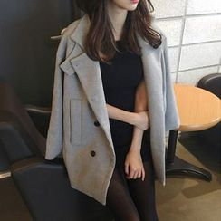 OTTI - Plain Lapel Coat