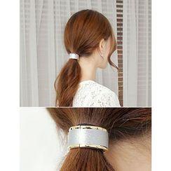 soo n soo - Metal Hoop Hair Tie