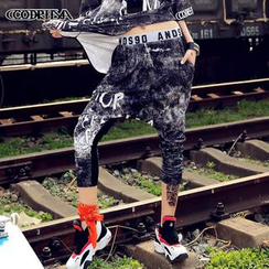 Cooreena - Printed Harem Pants