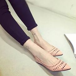QQ Trend - Cutout Pointed Flats