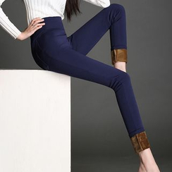 Mija - Fleece-Lined Skinny Pants