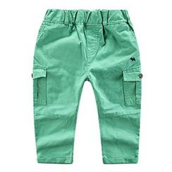 DEARIE - Kids Plain Cargo Pants