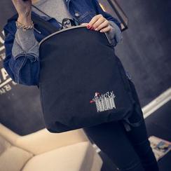 Seok - Embroidered Backpack