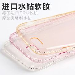 Kindtoy - Rhinestone iPhone 6 / 6 Plus Case