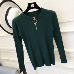 RUI - Zip Knit Pullover
