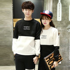 CASSY - Couple Matching Panel Pullover