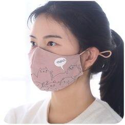 Momoi - Printed Mask
