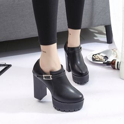 Wello - High Heel Ankle Boots