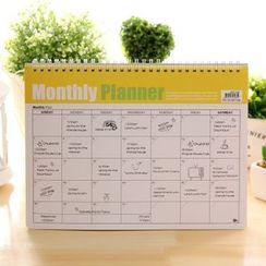 Hera's Place - Desktop Monthly Planner