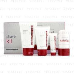 Dermalogica - Shave Kit: Clean Scrub 44ml + Pre-Shave Guard 28.3g + Shave Cream 74ml + Post-Shave Balm 10ml