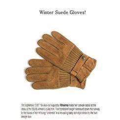 Ohkkage - Faux-Suede Glove