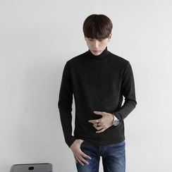 Seoul Homme - Turtle-Neck Top