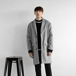 Seoul Homme - Colored Single-Breasted Coat