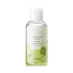 The Saem - Healing Tea Garden Green Tea Lip & Eye Remover 150ml