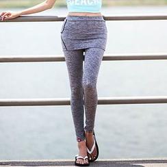 Lissom - Inset Skirt Sport Pants
