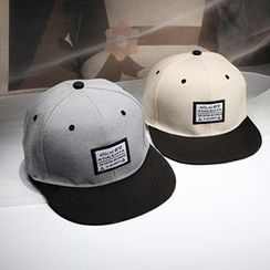 Mad Hatter - 貼布繡棒球帽