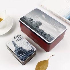 Cute Essentials - Printed Storage Tin