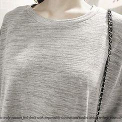NANING9 - Short-Sleeve Dip-Back T-Shirt