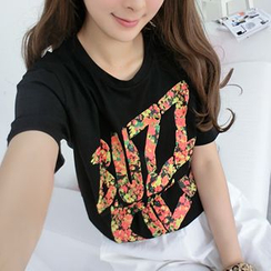 SO Central - Short-Sleeved Print T-Shirt
