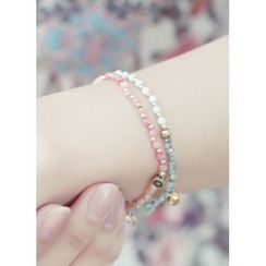kitsch island - Beads Charm Bracelet