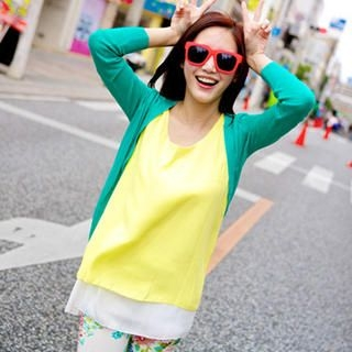 Tokyo Fashion - Wrap-Back Layered Sleeveless Top