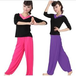 Dancing Queen - 运动套装: 短袖 / 长袖上衣 + 长裤