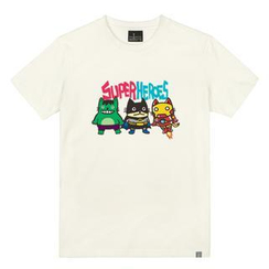 the shirts - Little Heroes Print T-Shirt