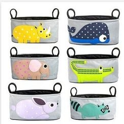 Cattle Farm - Animal Applique Baby Stroller Hanging Bag