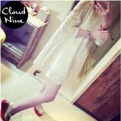 Cloud Nine - Long-Sleeve Lace Tunic