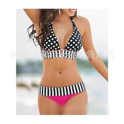 Rivergirl - Polka Dot Stripe Bikini