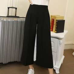 Harmonia - Wide Leg Cropped Pants
