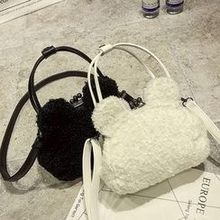 Nautilus Bags - Mouse Ear Furry Shoulder Bag