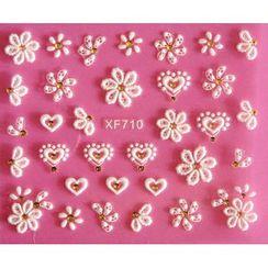 Maychao - 3D Nail Sticker (XF710)