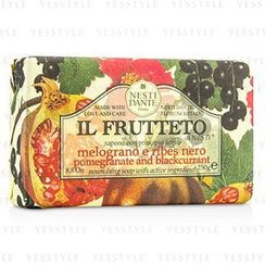 Nesti Dante - Il Frutteto Nourishing Soap - Pomegranate and Blackcurrant
