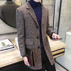 Bay Go Mall - Woolen Long Coat