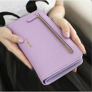 Rinka Doll - Double Zippers Long Wallet
