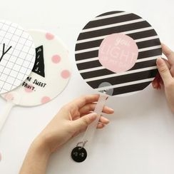 Ms Zaa - Print Hand Fan