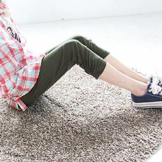 Tokyo Fashion - Ruched-Hem Capri Pants