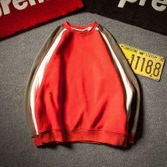 Alvicio - Colour Block Sweatshirt