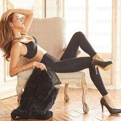 V.VIENNA - Slim Fit Legging (Black)