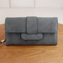 Pandabada - Faux-Leather Long Wallet