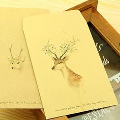 MissYou - Deer Printed Kraftpaper Envelope